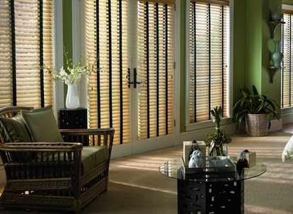 "2 1/2"" Timber Premium Faux Wood Blinds"