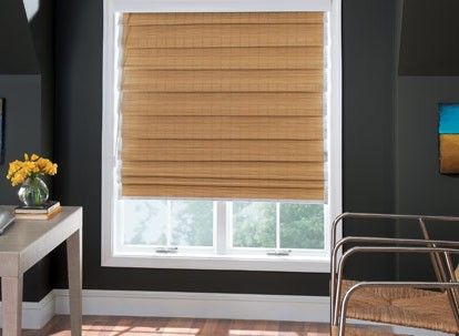 Graber Tradewinds Natural Shade - Looped Roman Style