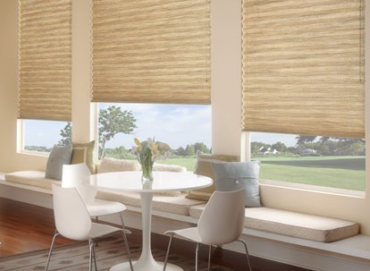 "Graber 1"" EvenPleat Light Filtering Pleated Shades - Unlined"