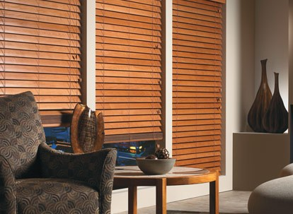 "2 1/2"" Timber Veneto Natural Wood Blinds"