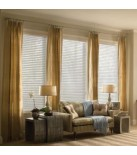 "Blindsmax Exclusive 2"" Room Darkening Sheer Horizontal Shades"
