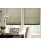 "Graber Crystal Pleat 3/8"" Double Cell Light Filtering Cellular Shades"